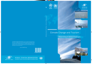 Climate Change and Tourism - Sustainable Development of Tourism
