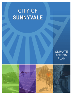 Sunnyvale Climate Action Plan