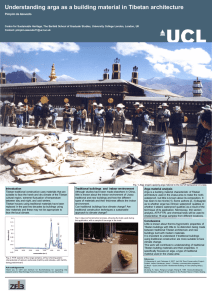 Understanding arga as a building material in - The Bartlett