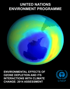 2014 Assessment in pdf - Ozone Secretariat