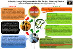 Climate Change Mitigation Within The Project Financing Sector