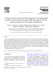 Archean crustal sources for Paleoproterozoic tin-mineralized
