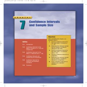 7 Confidence Intervals and Sample Size c