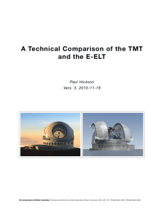 A Technical Comparison of the TMT and the E-ELT