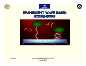 evanescent wave based biosensors