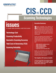 CIS vs. CCD Scanners