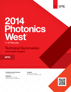 Abstracts for OPTO 2014