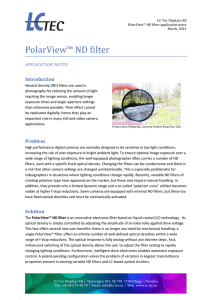 PolarView™ ND filter