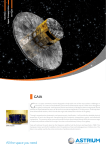 Gaia Fact Sheet