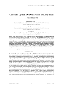 Coherent Optical OFDM System or Long-Haul Transmission