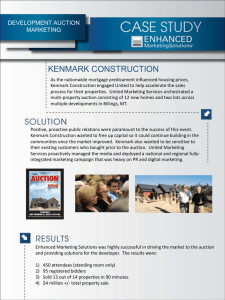 KENMARK CONSTRUCTION - Enhanced Marketing Solutions
