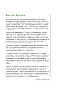 Executive Summary - Association of Canadian Advertisers