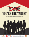 You`re the Target - Campaign for Tobacco