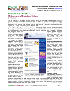 PDF file - Pharma Marketing News