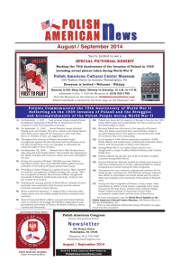 August / September 2014 Newsletter