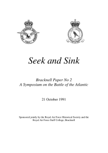 Bracknell Paper 2 - Battle of the Atlantic