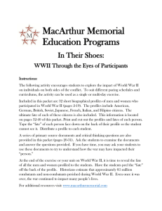 MacArthur Memorial Education Programs
