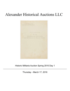 Alexander Historical Auctions LLC