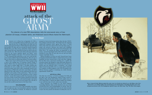 ghost army - America in WWII magazine