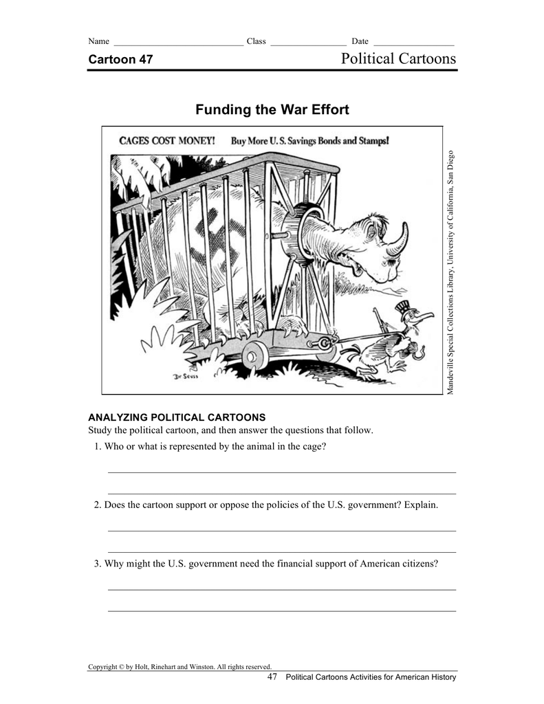 Gambar Kartun Lucu dan Keren: Analyzing Political Cartoons ...