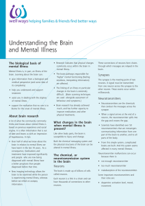 Understanding the Brain and Mental Illness
