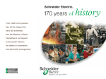Schneider Electric - 170 years of history