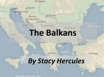 The Balkans - The Center for Middle Eastern Studies (CMES)
