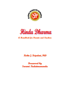 Hindu Dharma - Hindu Youth Summer Camp by Sadhu Vaswani