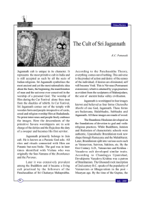 The Cult of Sri Jagannath