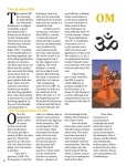 The Symbol OM The Components of OM