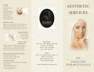 TRINA BROCHURE v10 - English Dermatology Centers