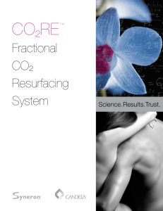 Fractional CO² Resurfacing System