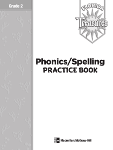 Spelling Practice Book - McGraw-Hill