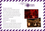 Venue name: London Dungeon Description: The all new London