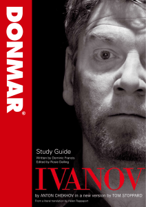Study Guide - Donmar Warehouse