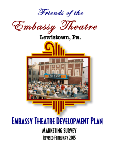 Friends of the Embassy Theatre Development Plan