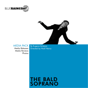THE BALD SOPRANO - Blue Raincoat Theatre Company