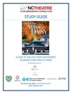 Driving miss daisy study guide