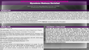Myxedema Madness Revisited