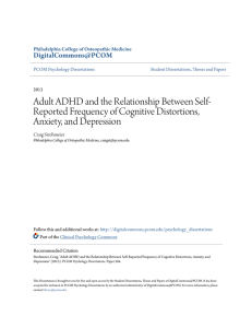 Adult ADHD and the Relationship Between Self