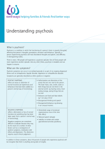 Understanding psychosis - Mental Illness Fellowship