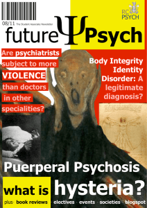 futurePsych - Royal College of Psychiatrists