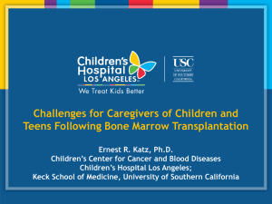 Challenges for Caregivers of Children and Teens