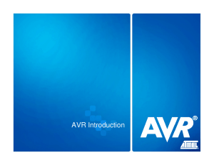 AVR Introduction