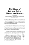 The Story of Isis and Osiris (Auset and Ausar)