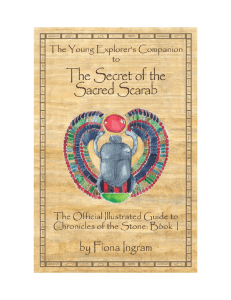 now for free - The Secret of the Sacred Scarab