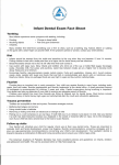 Infant Dental Exam Fact Sheet