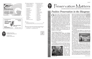 Fall 2007 - Blue Grass Trust for Historic Preservation
