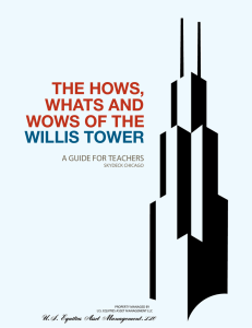 the hows, whats and wows of the willis tower