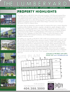 Property Flyer - THE LUMBERYARD
